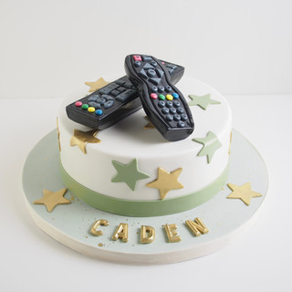 Remote Control Birthday Cake