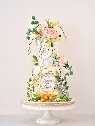 Incredible Safari Birthday Cake Hong Kong