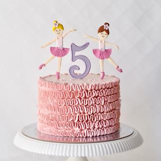 Ballerina Birthday Cake