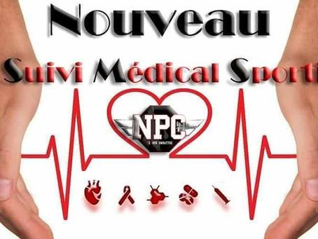 SMS : Suivi Médical Sportif