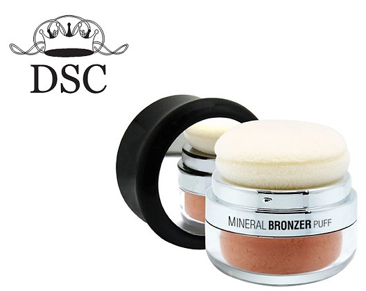Mineral Bronzer Puff- Golden Peach