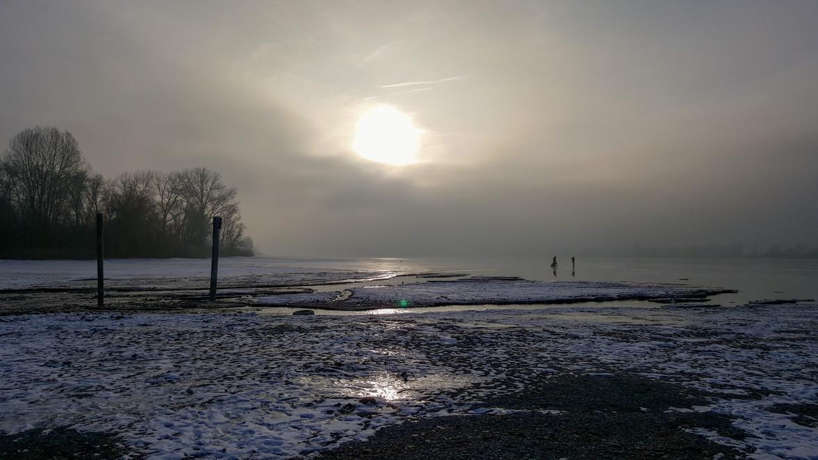 Winterstimmung am See...