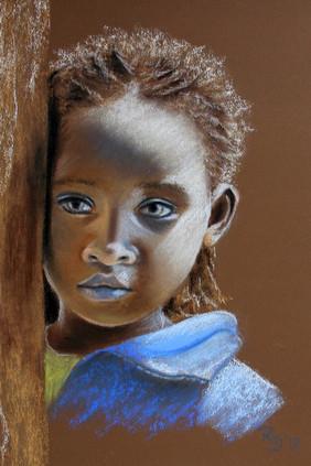 Kind aus Äthiopien