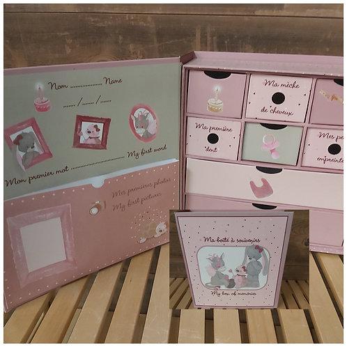 Boîte à souvenirs Nattou (2354/43)