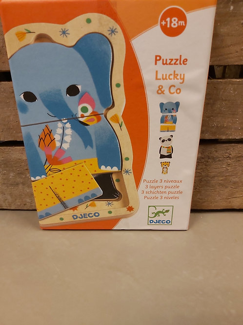 Puzzle Lucky & Co Djeco (2363a15)