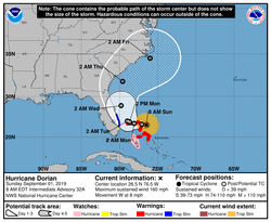 Hurricane Dorian 115245_5day_cone_no_lin
