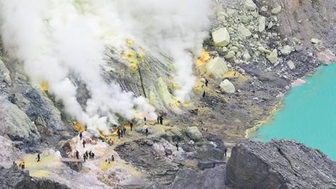 Ijen Volcano   Java