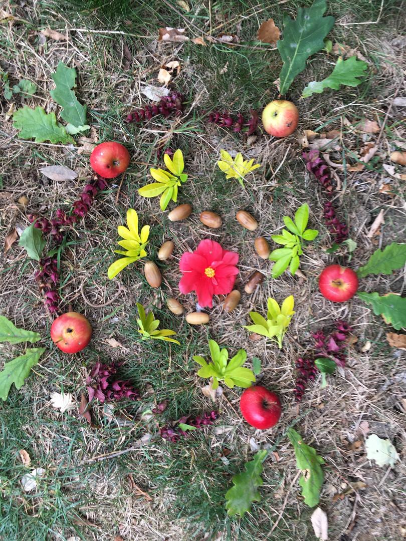 Tree Babies Nature Mandala