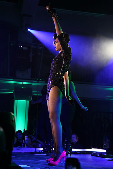 Rihanna Performs at Verizon & Blackberry Pre-Grammy Party Produced by MVD Inc