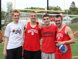 Relay teams break records on way to D3 titles.