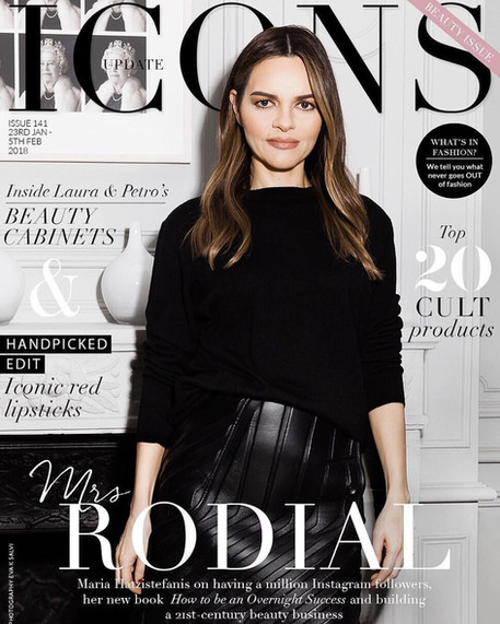 Maria Hatzestafanis for Icons magazine