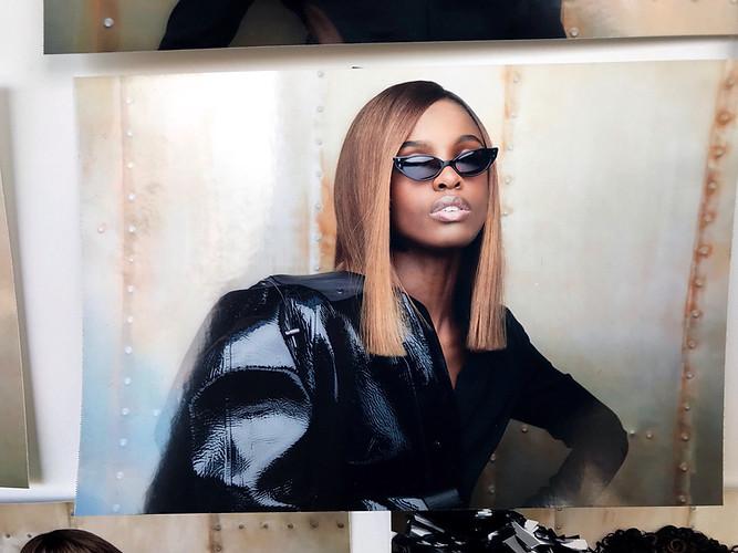 Leomie Anderson for Redken 2018
