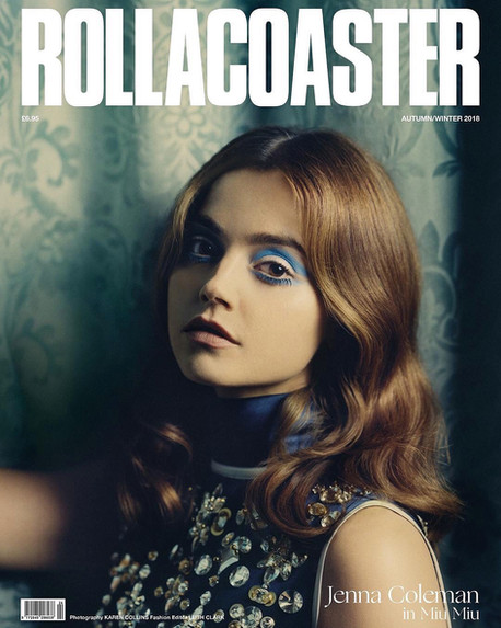 Jenna Coleman for Rollacoaster '18