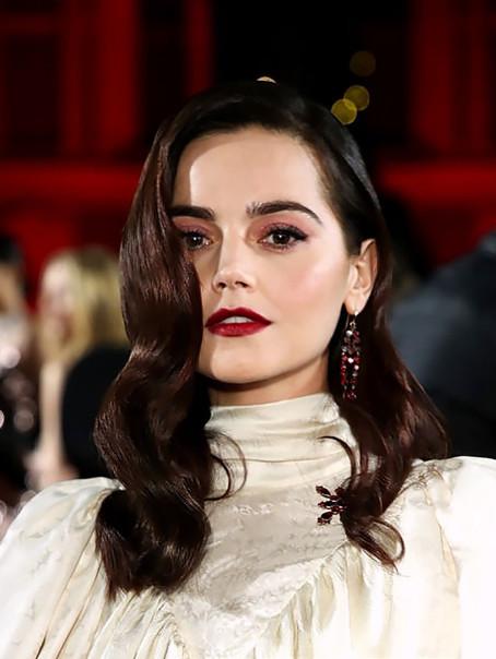 Jenna Coleman at The British Fashion Awards 2018