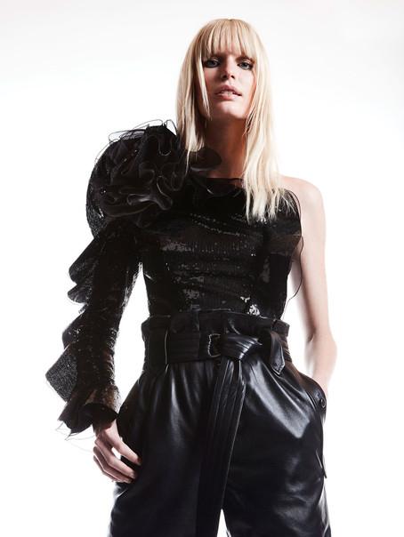 Caroline Winberg for Dundas, Lookbook SS19