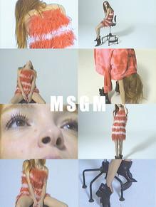 Maria Carla Boscono for MSGM SS19