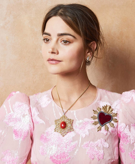 Jenna Coleman for US InStyle