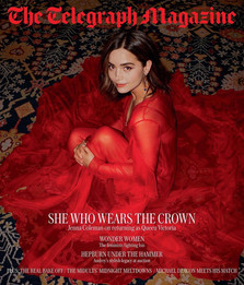 Jenna Coleman for The Sunday Telegraph '18