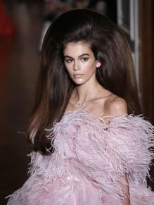 Kaia for Valentino Couture '18