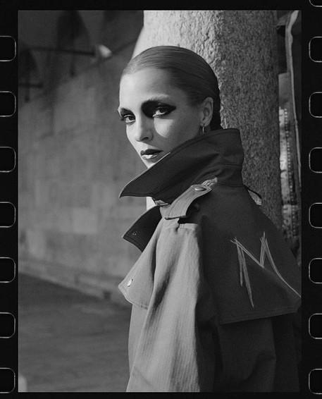 Mariacarla Boscono, Vogue Italia, Oct '18