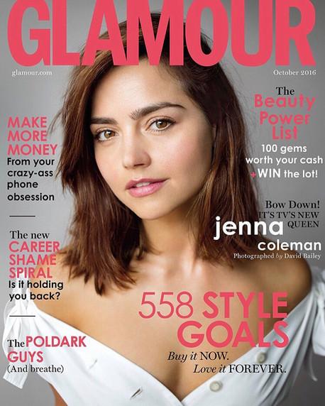 Jenna Coleman for UK Glamour '16