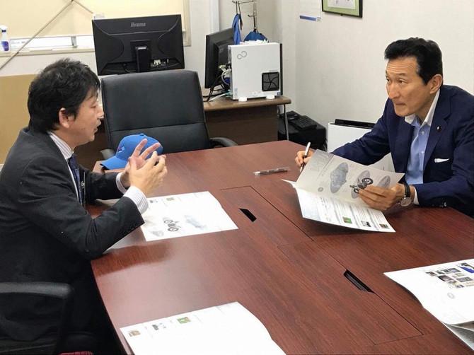 「渡邉美樹氏からの経営アドバイスをいただきました。」