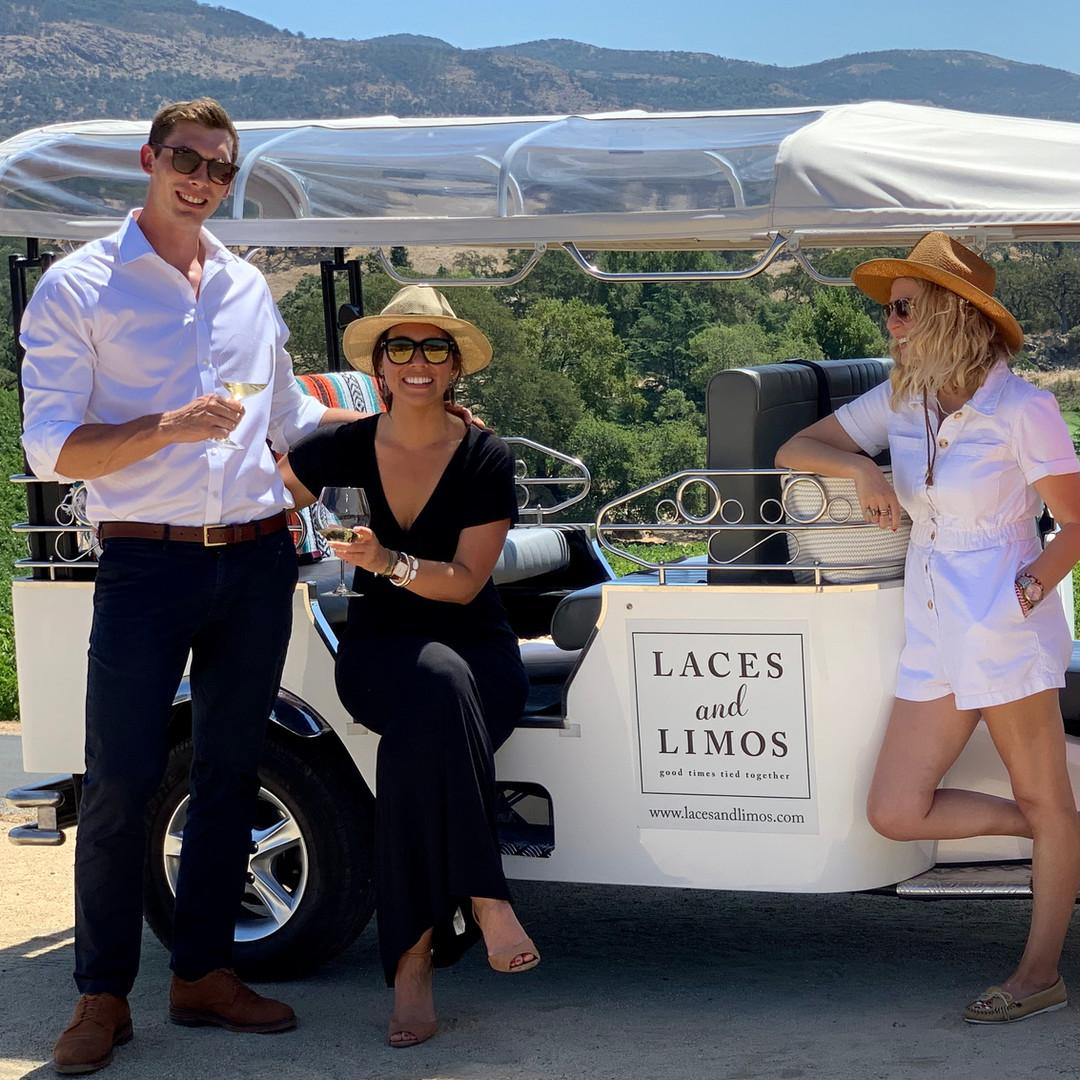 napa wine tour for 2