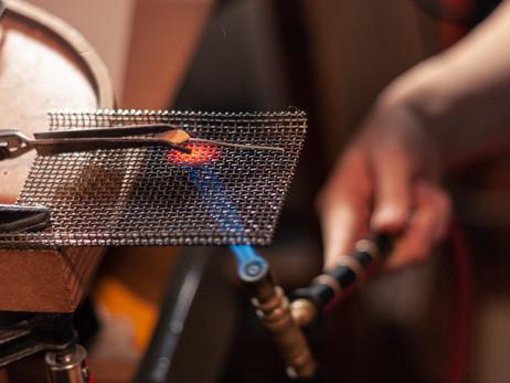 La tècnica d'esmalts al foc