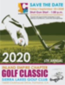 September ACE Golf Registration Save the