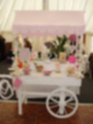 Candy cart Hire Bury