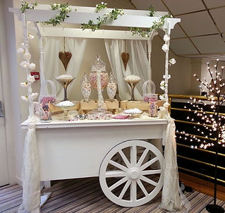 Sweet Trolley Hire for Weddings