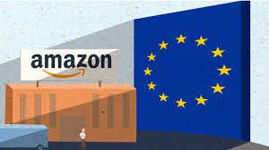 Why is the EU taking legal action against Amazon?