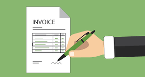 we cannot accept this invoice because we are unable to verify the supplier