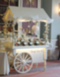 Hertfordshire Wedding Sweet Cart Hire