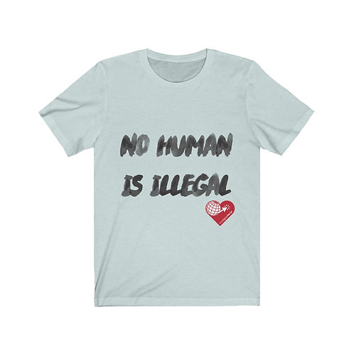 """No Human Is Illegal"" Tee"