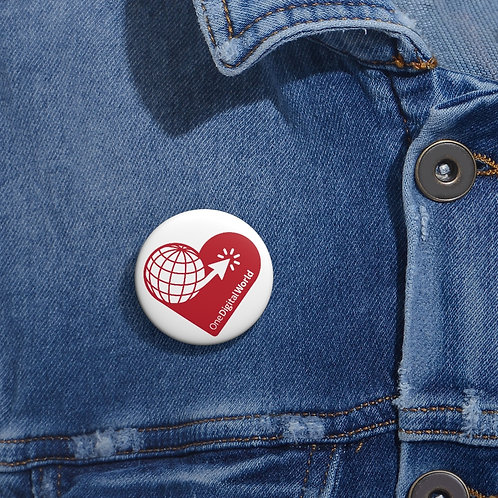 I Support Refugees Pin