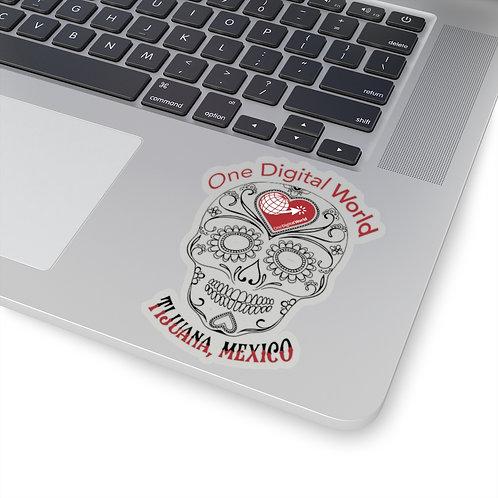 Mexican Sugar Skull Sticker