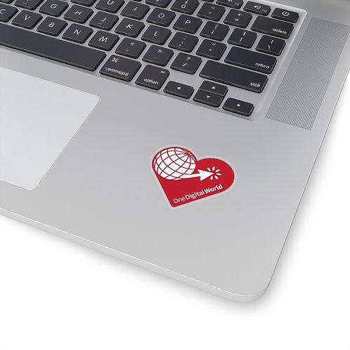 One Digital World Sticker