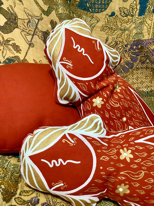 Cushion decorative-Little Mowcka red