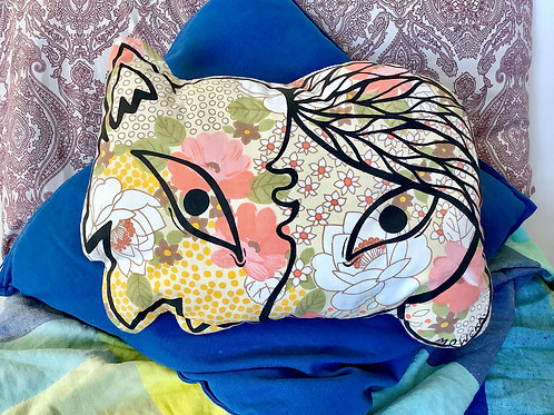 Cushion design animal human