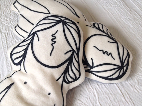 Little Mowcka Cushion