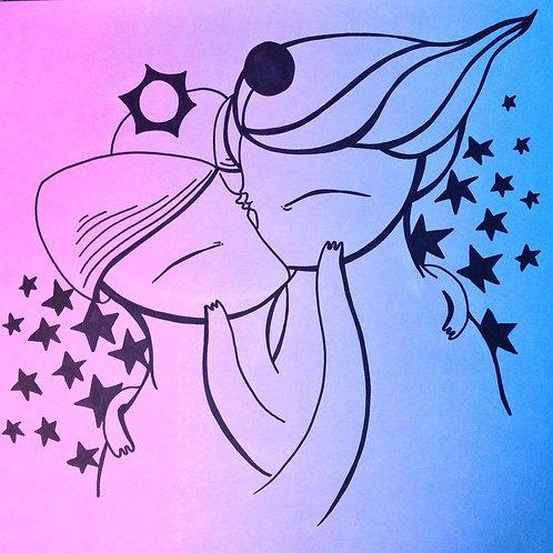 Eclipse ilustración