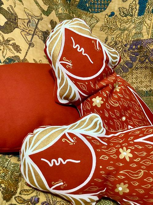 Cushion decorative Girls