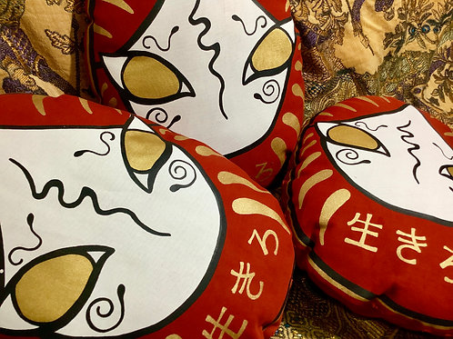 DARUMA cushion Decorative