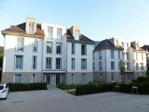 Neubau von 2 Mehrfamilienhäusern der Firma Viega in Attendorn