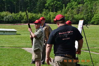 Old Post Leader helping Boys Scouts