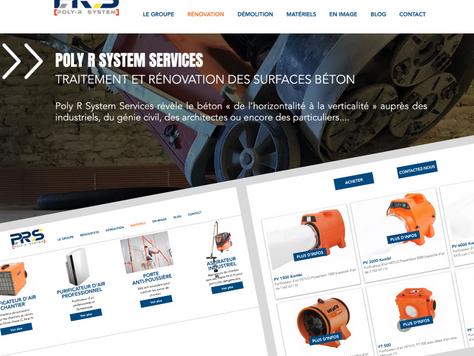 Coup de projecteur sur le site e-commerce de Poly R System