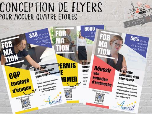 Création de flyers promotionnels