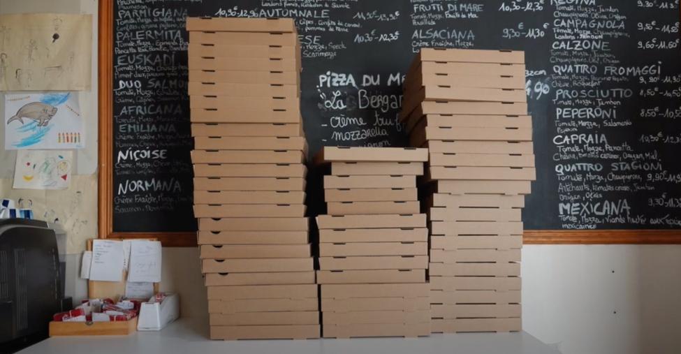 Pizza Galli, vidéo promotionnelle