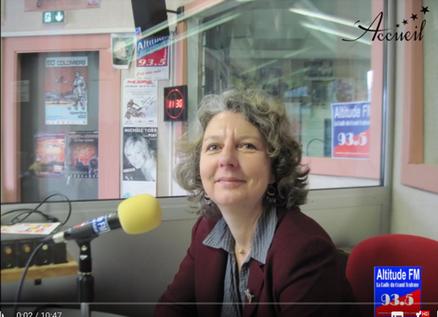 RP - Interview de Delphine Deserier radio Altitude FM
